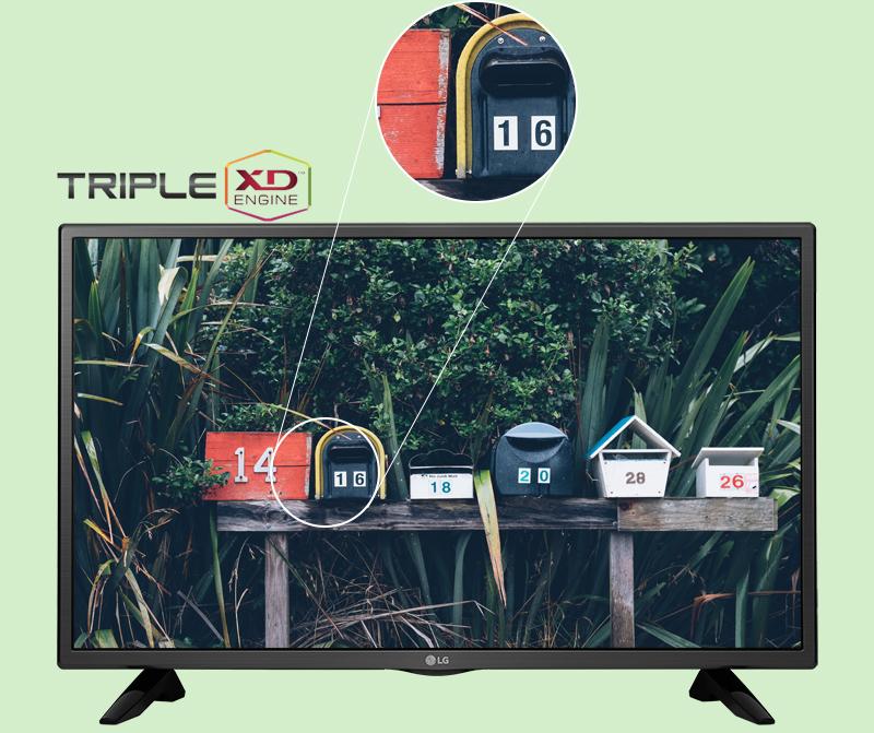 Tivi LG 49 inch 49LH511T - Chất lượng hình ảnh ấn tượng