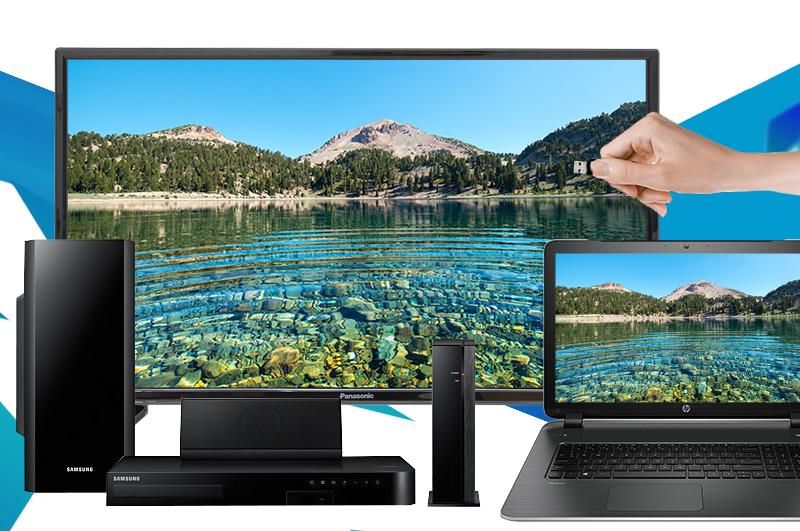 Tivi Panasonic 32 inch TH-32D300V - Tính năng kết nối