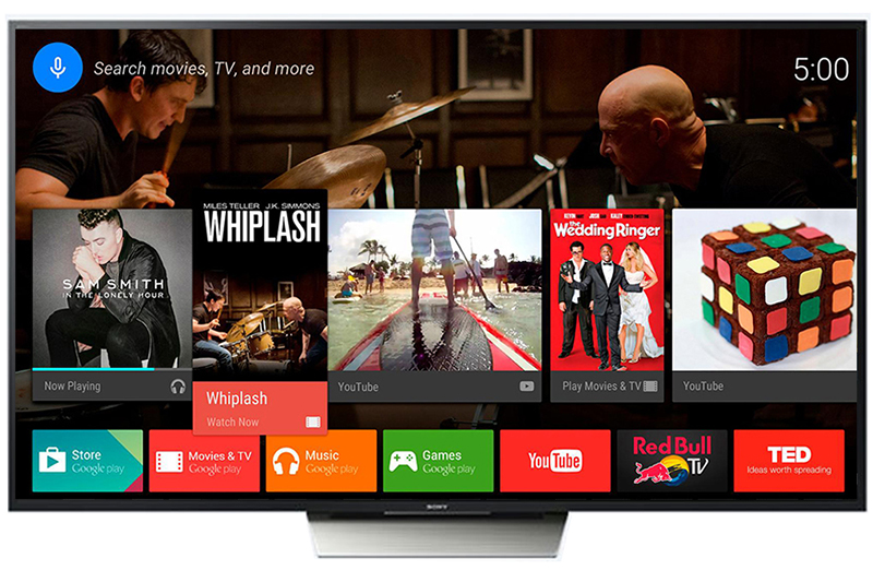 Smart Tivi Sony 75 inch KD-75X8500D - Giao diện Android