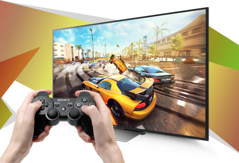 Android Tivi Sony 75 inch KD-75X8500D - Kết nối game pad