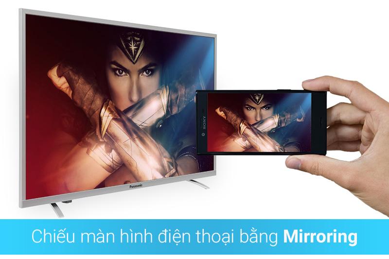 Chiếu màn hình điện thoại lên tivi qua tính năng Mirroring