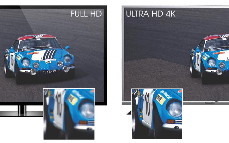 Internet Tivi Panasonic 43 inch TH-43DX400V - Độ phân giải Ultra HD 4K