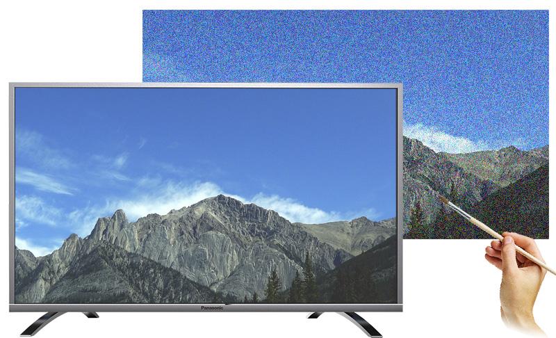 Internet Tivi Panasonic 43 inch TH-43DX400V - Khử nhoè, khử nhiễu