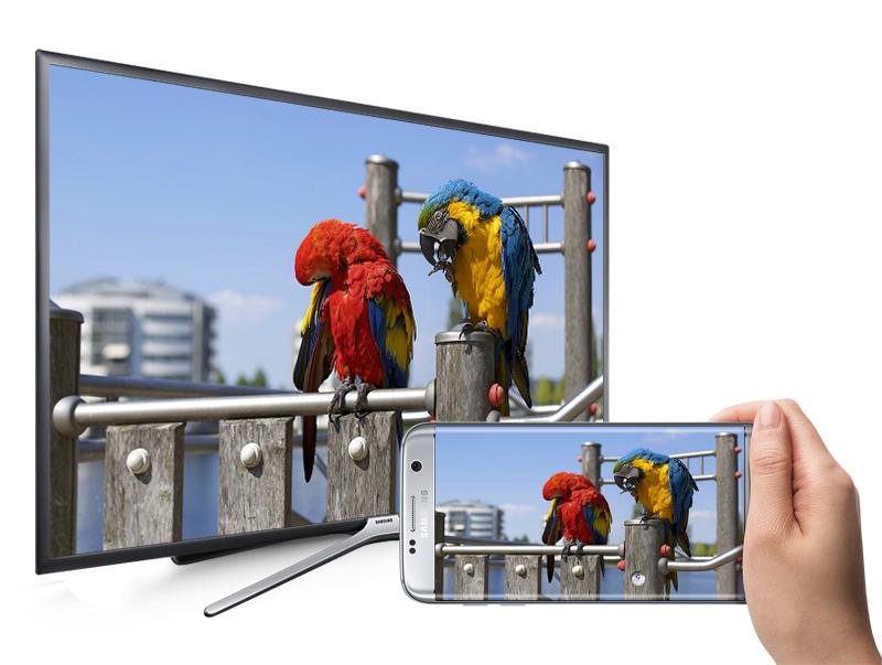 Smart Tivi Samsung 43 inch UA43K5500 - Chiếu màn hình điện thoại lên tivi