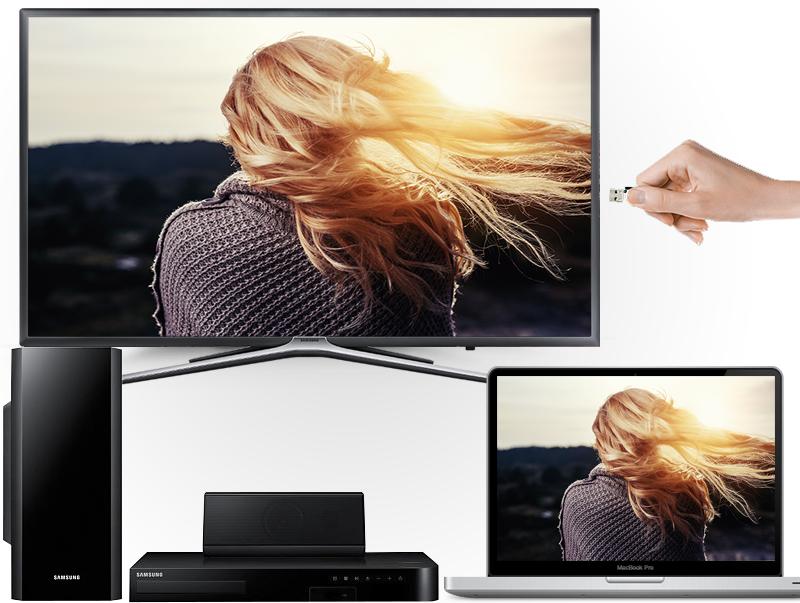 Smart Tivi Samsung 43 inch UA43K5500 - Các tính năng kết nối