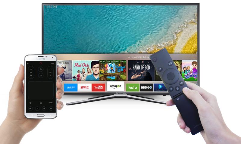 mart Tivi Samsung 43 inch UA43K5500 - Điều khiển tivi bằng điện thoại
