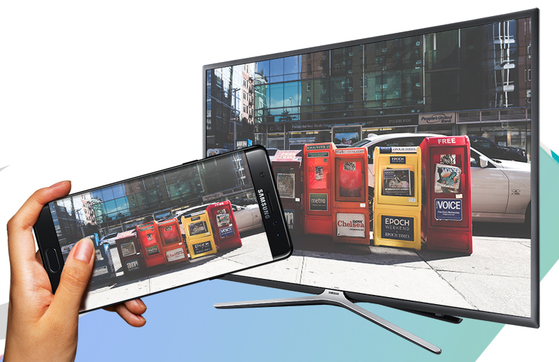 Smart Tivi Samsung 40 inch UA40K5500 - Chiếu màn hình điện thoại lên TV