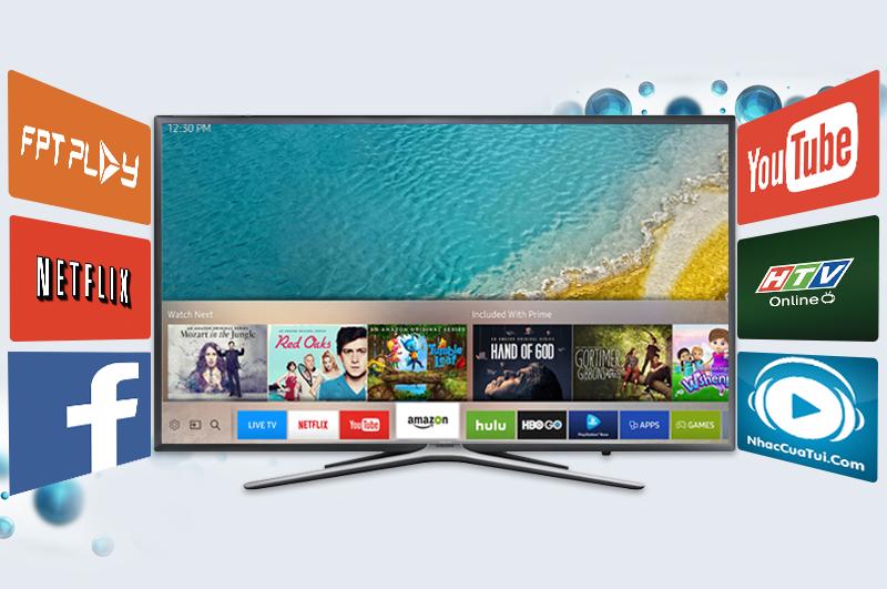 TIVI LED SAMSUNG UA40K5500 AKXXV 40 INCH (SMART TV) mang đến bạn tầm nhìn tốt nhất với khoảng cách tối ưu và cân bằng dù ngồi ở bất kỳ vị trí nào