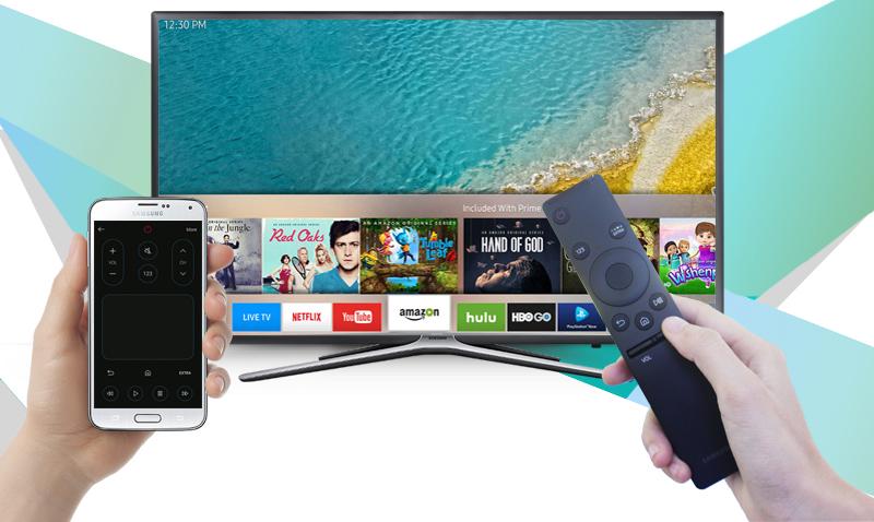 Smart Tivi Samsung 40 inch UA40K5500 - Điều khiển TV bằng điện thoại