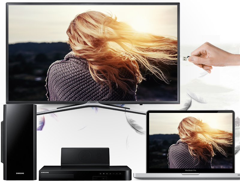 Smart Tivi Samsung 49 inch UA49K5500 - Kết nối