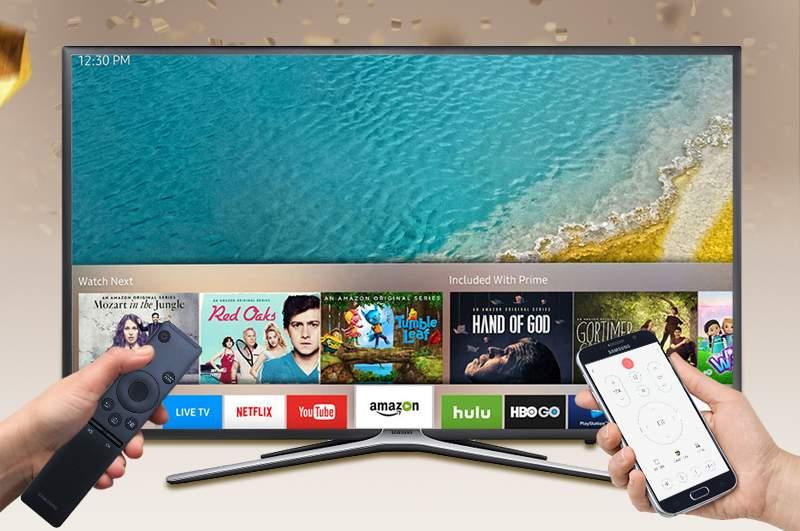 Smart Tivi Samsung 55 inch UA55K5500 - Điều khiển bằng điện thoại