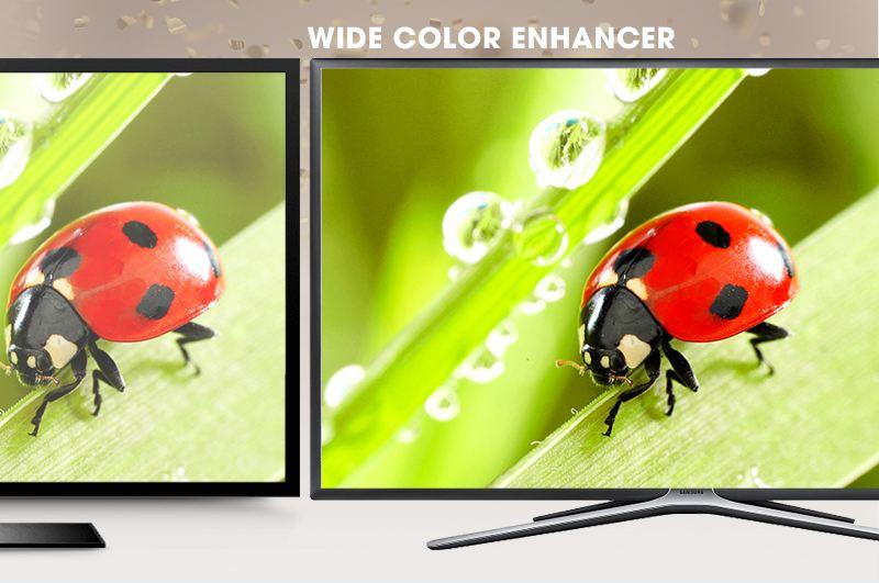 Smart Tivi Samsung 55 inch UA55K5500 - Hình ảnh sống động