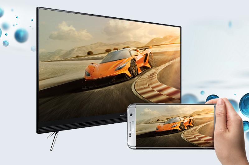 Smart Tivi Samsung 40 inch UA40K5300 - Chiếu màn hình điện thoại lên tivi