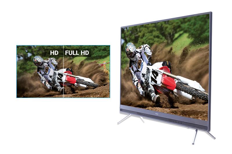 Hình ảnh sắc nét với độ phân giải Full HD (nét gấp 2 lần HD)