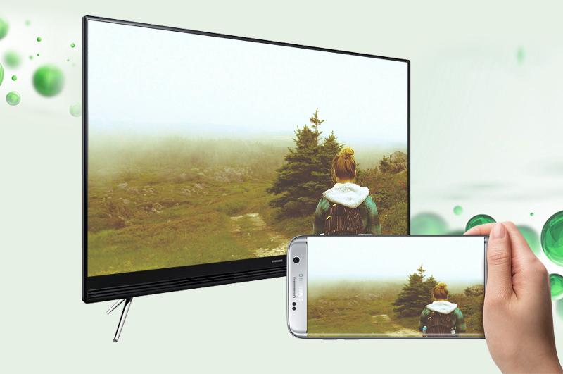 Smart Tivi Samsung 49 inch UA49K5300 - Chiếu màn hình điện thoại lên tivi