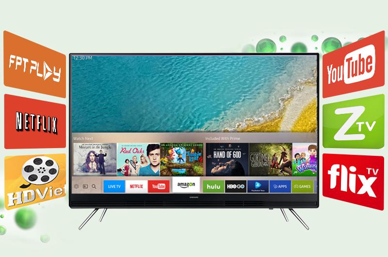 Smart Tivi Samsung 49 inch UA49K5300 - Ứng dụng