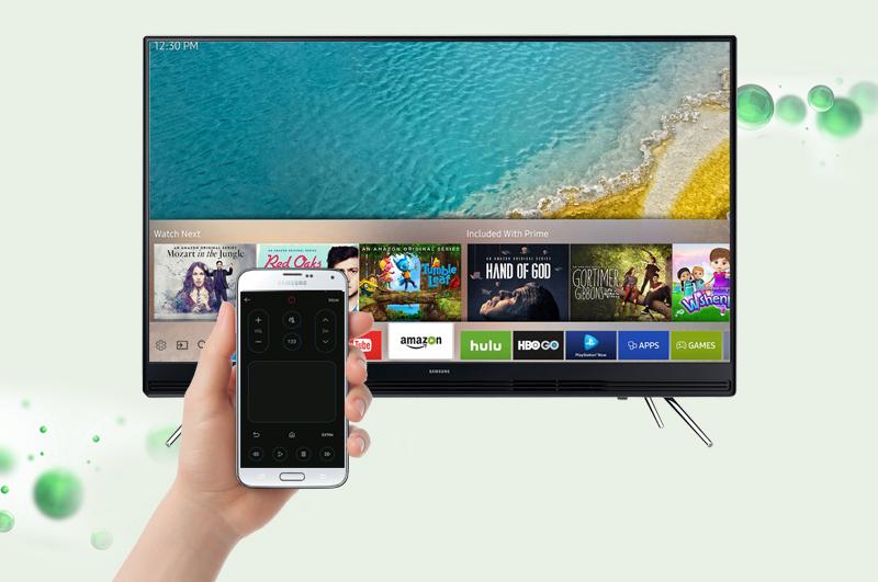 Smart Tivi Samsung 49 inch UA49K5300 - Điều khiển tivi bằng điện thoại