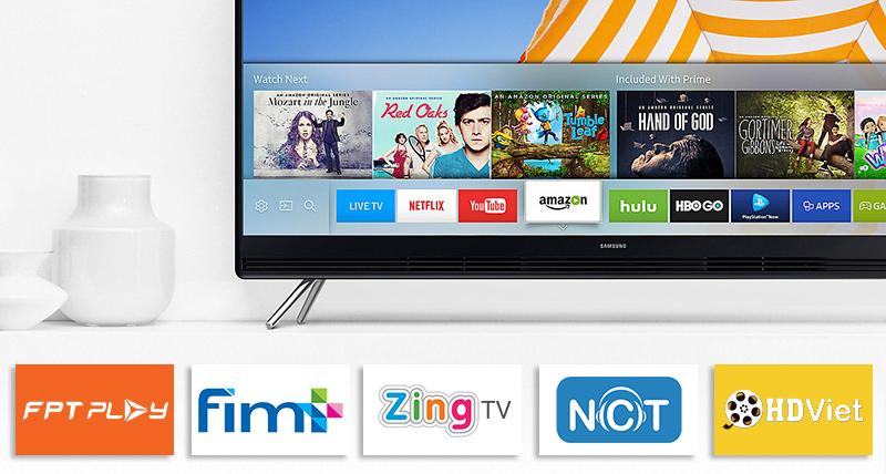 Smart tivi Samsung tích hợp nhiều tính năng giải trí đặc sắc