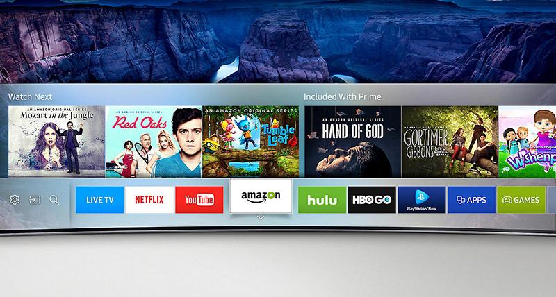Smart Tivi Samsung 40 inch UA40KU6000 - Giao diện tivi
