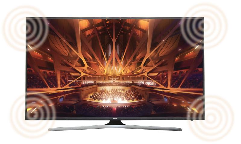 Smart Tivi Samsung 55 inch UA55KU6000 - Âm thanh vòm ấn tượng