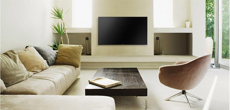 Smart Tivi Samsung 55 inch UA55KU6000 - Thiết kế ấn tượng