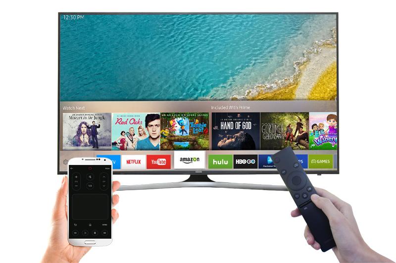 Smart Tivi Samsung 55 inch UA55KU6000 - Điều khiển tivi bằng điện thoại