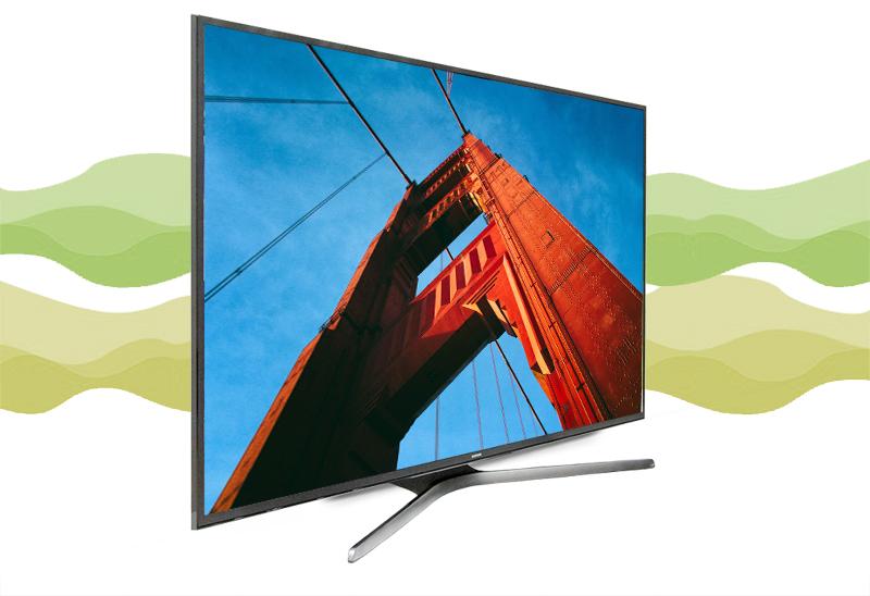 Smart Tivi Samsung 60 inch UA60KU6000 - Thiết kế ấn tượng
