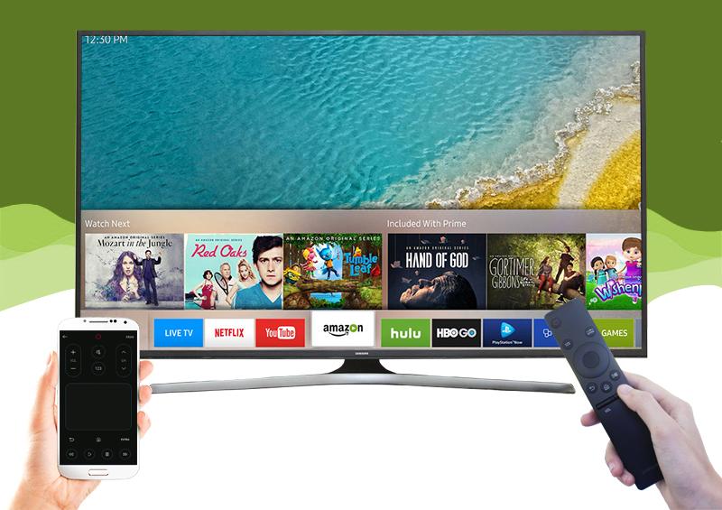 Smart Tivi Samsung 60 inch UA60KU6000 - Điều khiển tivi bằng điện thoại