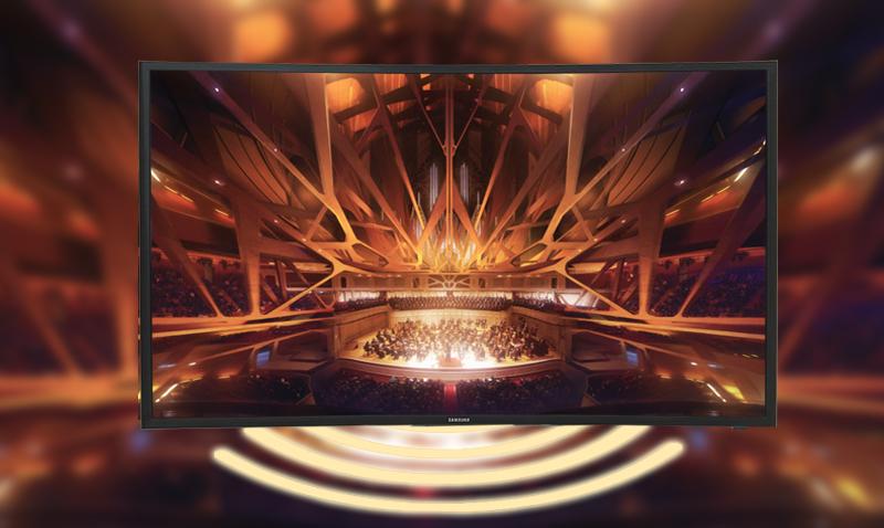 Smart Tivi Cong Samsung 49 inch UA49KU610 - Âm thanh hoành tráng