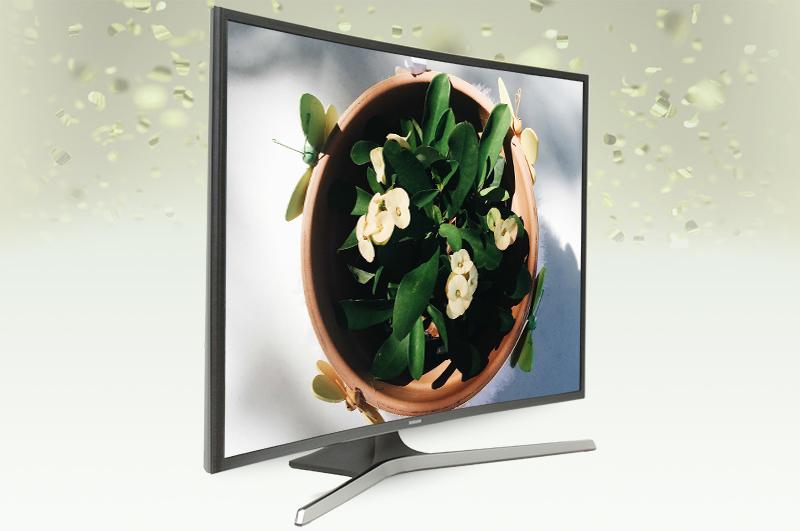 Smart Tivi Cong Samsung 40 inch UA40KU6100 - Thiết kế uốn cong độc đáo