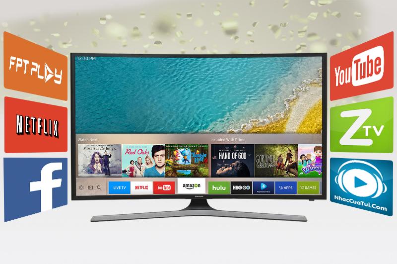 Smart Tivi Cong Samsung 49 inch UA49KU610 - Ứng dụng