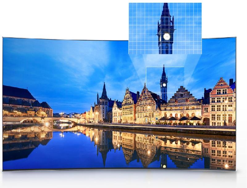 Smart Tivi Samsung 55 inch UA55KU6100 - Công nghệ UHD Dimming