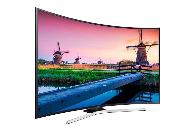Smart Tivi Samsung 55 inch UA55KU6100 - Thiết kế màn hình cong hiện đại
