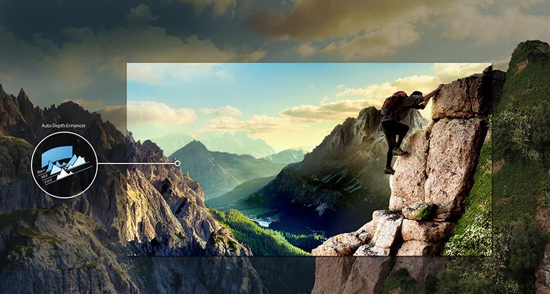 Smart Tivi cong Samsung 40 inch UA40K6300 - Hình ảnh ấn tượng