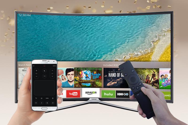 Smart Tivi Cong Samsung 49 inch UA49K6300 - Điều khiển tivi bằng điện thoại