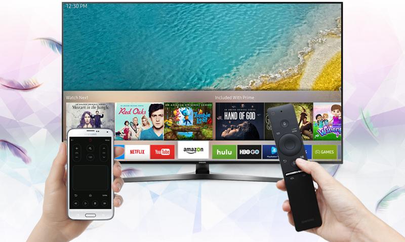 Smart Tivi Samsung 55 inch UA55KU6400 - Điều khiển tivi bằng điện thoại