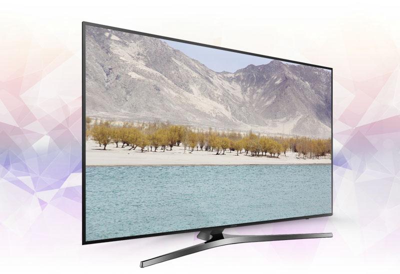Smart Tivi Samsung 55 inch UA55KU6400 - Thiết kế ấn tượng