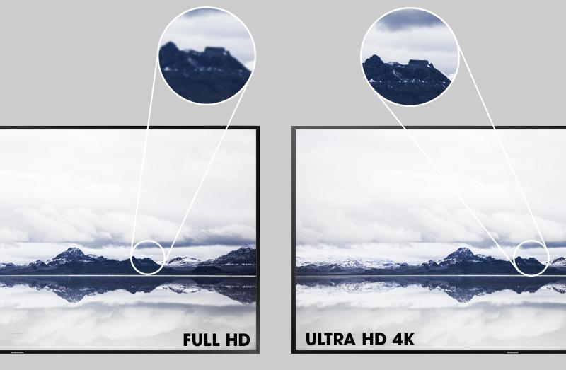 Smart Tivi Samsung 55 inch UA55KU6400 - Chất lượng hình ảnh ấn tượng