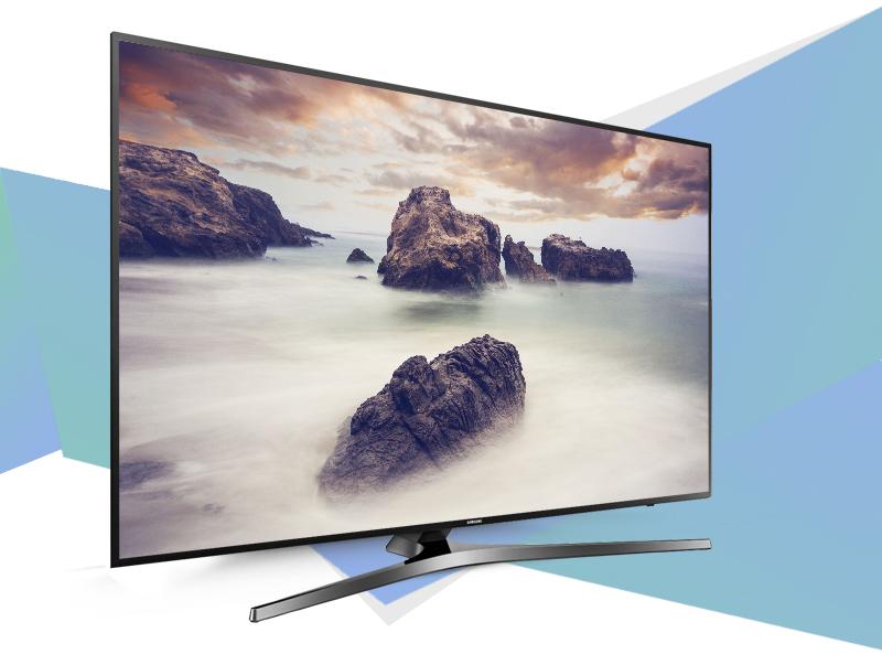 Smart Tivi Samsung 49 inch UA49KU6400 - Thiết kế ấn tượng
