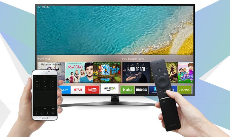 Smart Tivi Samsung 49 inch UA49KU6400 - Điều khiển tivi bằng điện thoại