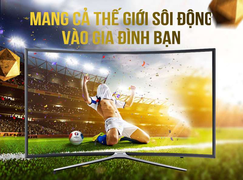 Smart Tivi cong Samsung 55 inch UA55K6300