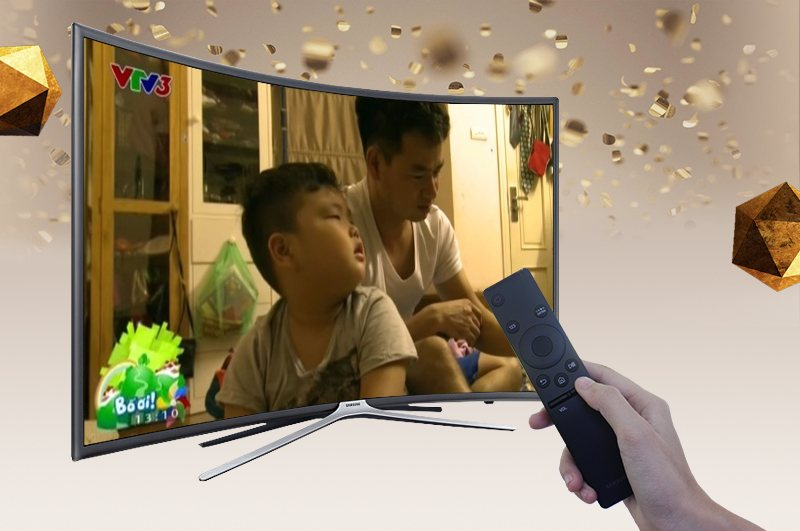 Smart Tivi cong Samsung 55 inch UA55K6300-DVB-T2