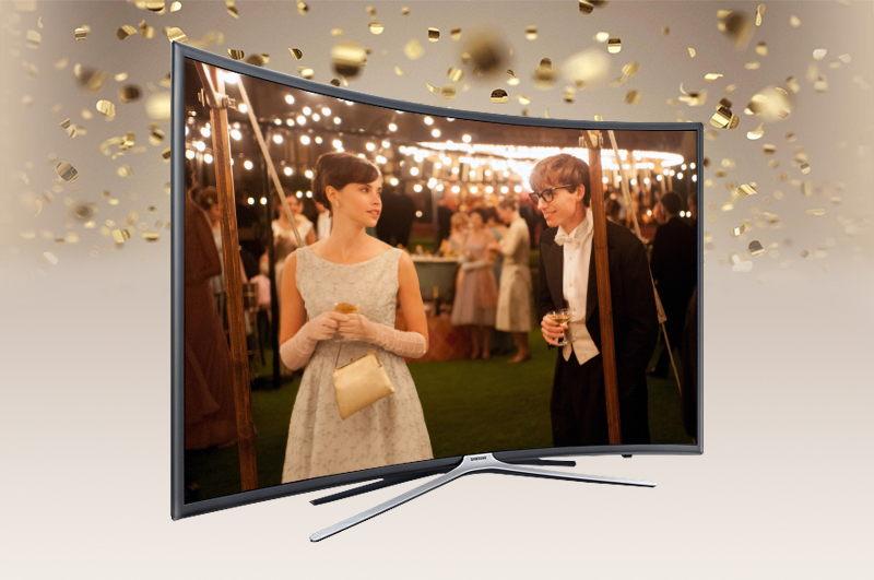 Smart Tivi cong Samsung 55 inch UA55K6300-Thiết kế đẹp
