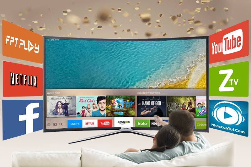 Smart Tivi cong Samsung 55 inch UA55K6300-Tizen
