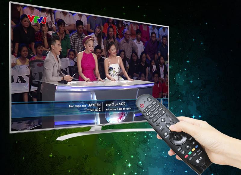 Smart Tivi LG 65 inch 65UH770T - Truyền hình KTS miễn phí