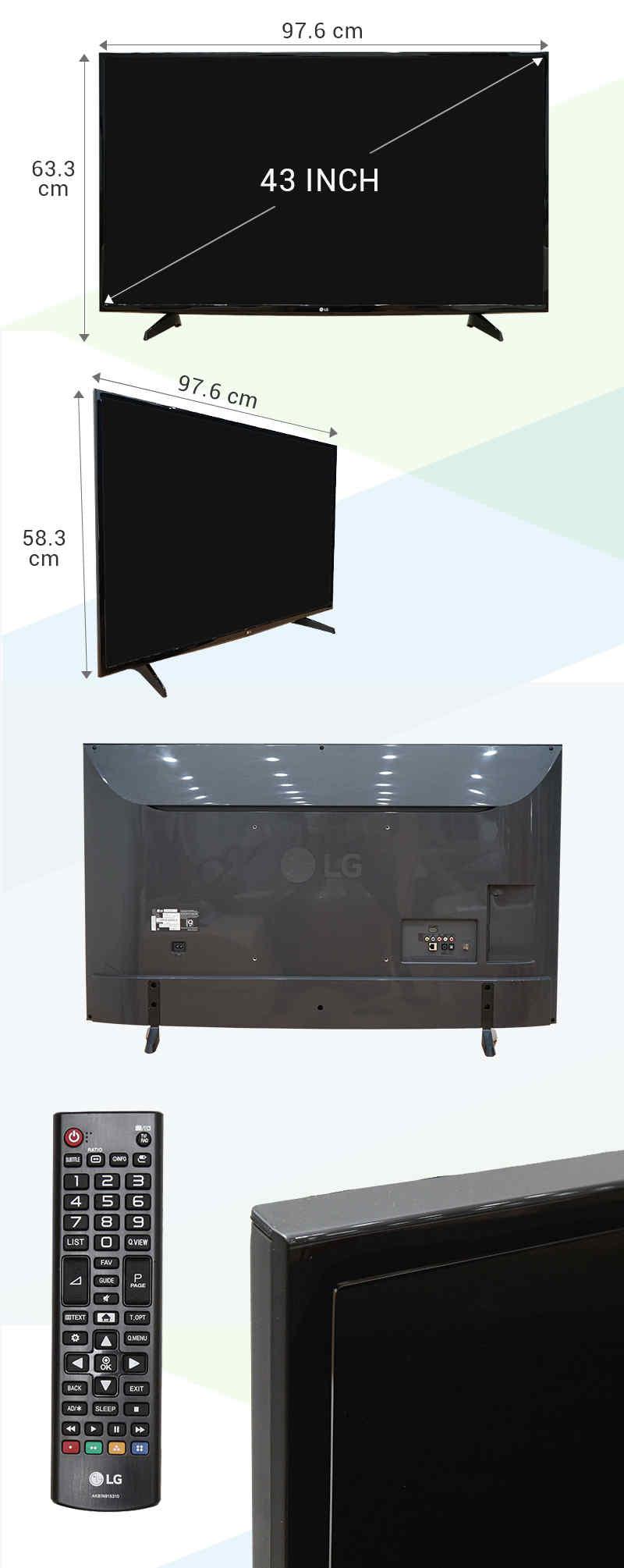 Internet Tivi 43 inch LG 43LH570T