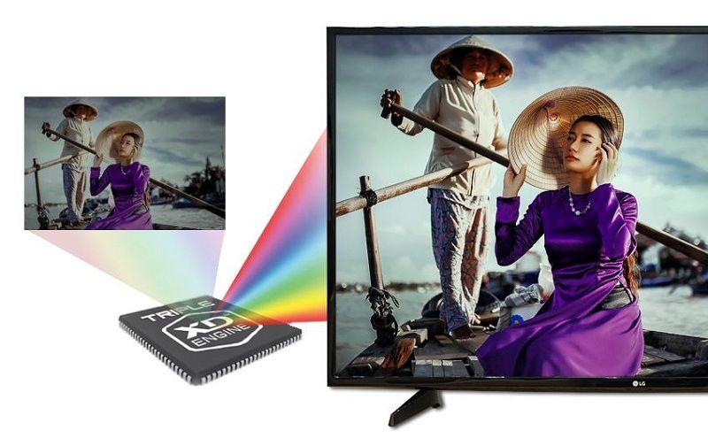 Internet Tivi 32 inch LG 32LH570D - Hình ảnh tuyệt mỹ