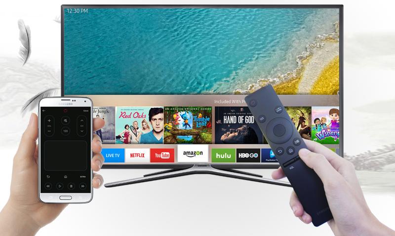 Smart Tivi Samsung 32 inch UA32K5500 - Dùng điện thoại điều khiển tivi