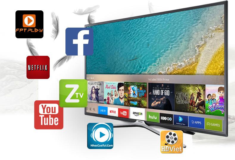 Smart Tivi Samsung 32 inch UA32K5500 - Ứng dụng
