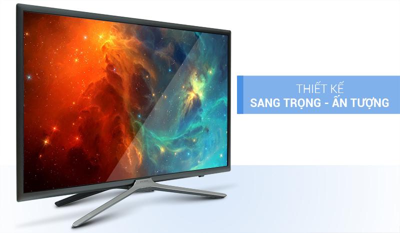 Smart Tivi Samsung UA32K5500 thiết kế sang trọng, ấn tượng
